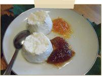 fromage blanc et confiture